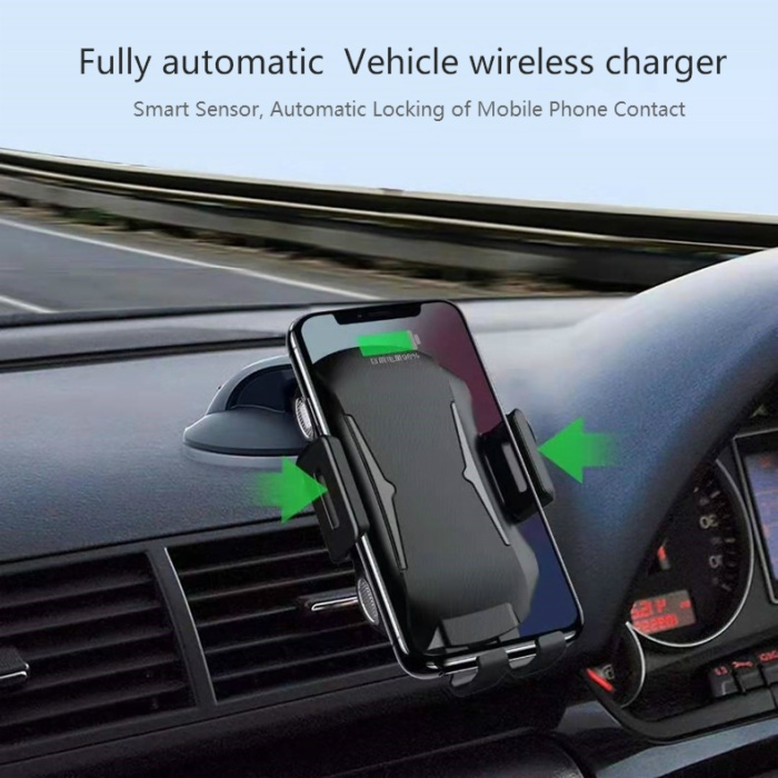 Full-Automatic Car Wireless Charger