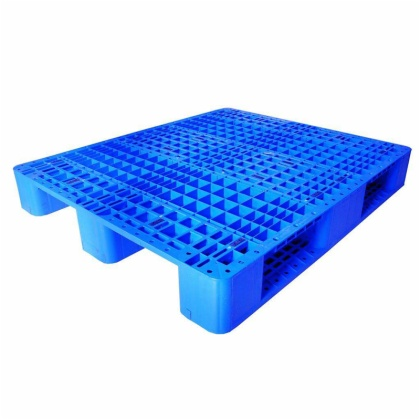 Warehouse Equipment 1000*1000*140mm HDPE Nine Feet  Plastic  Pallet