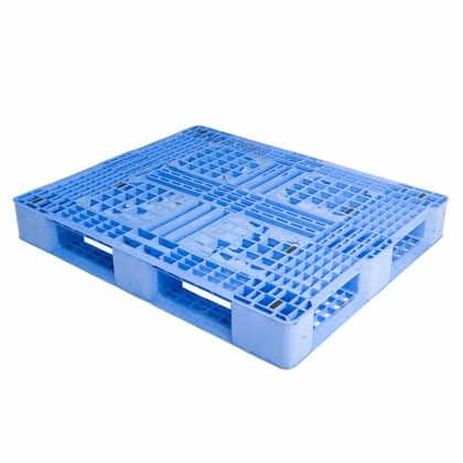 Single Side Warehouse Perforated Deck HDPE Racking Plastic Pallet for Industry