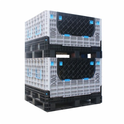 1040*840*322mm Pallet Box, Plastic Heavy Duty Box, Battery Plastic Box