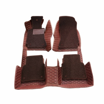 Colors XPE Leather 5D Full Surround Car Mat for Toyota
